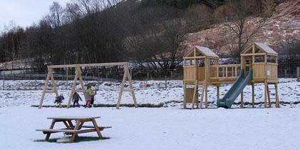 Corachie Clematis Garden Centre Play Area