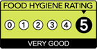 Expresso Café Norwich has a Food Hygeine Rating of Very Good (5/5). Norwich City Council.