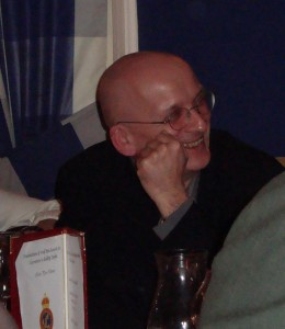Roddy Doyle, recipient of the Irish PEN award for literatire January 2009