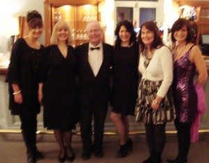 Blessed is Brendan among women, at the Irish PEN dinner and award, January 2010