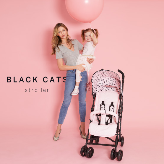 Black Cats Stroller - Catwalk Collection by Abbey Clancy