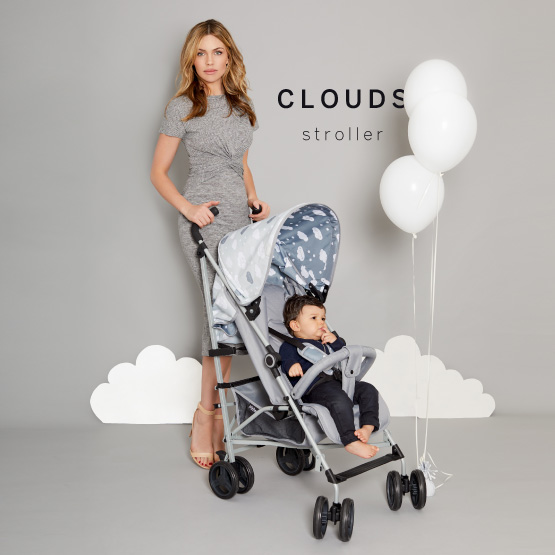 Dream Big Clouds Stroller - Catwalk Collection by Abbey Clancy