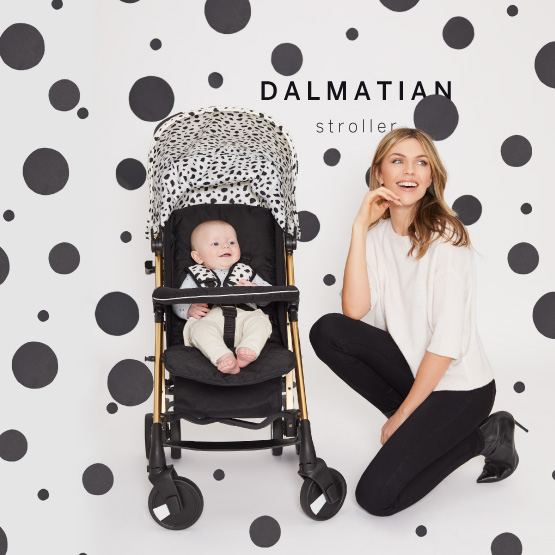 Dalmatian Stroller - Catwalk Collection by Abbey Clancy