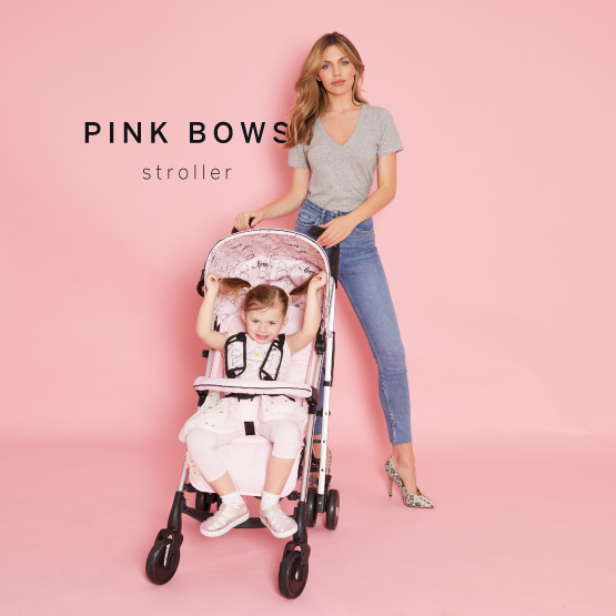 Pink Bows Stroller - Catwalk Collection by Abbey Clancy