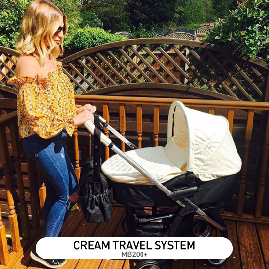 Cream MB200 Travel System - by Billie Faiers