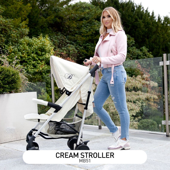 Cream MB51 Stroller - by Billie Faiers