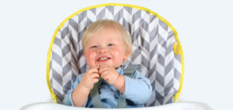 My Babiie Compact Highchair Comfortable Dining
