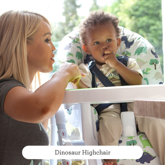 Dinosaurs Highchair - Believe by Katie Piper