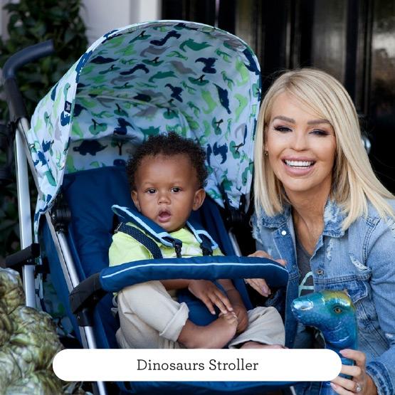 Dinosaurs Stroller - Believe by Katie Piper