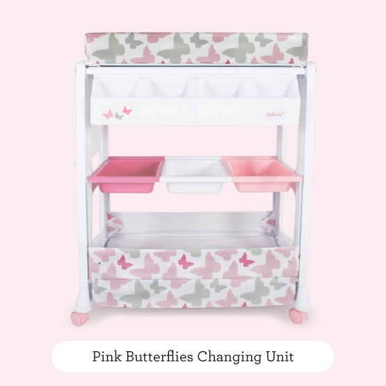 Pink Butterflies Changing Unit - Believe by Katie Piper