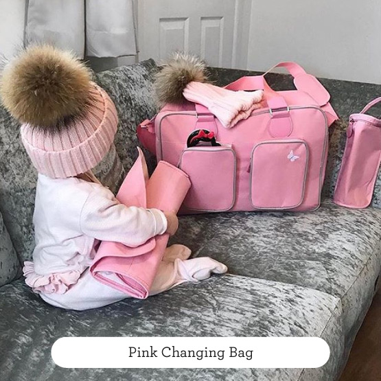 Pink Changing Bag - Believe by Katie Piper