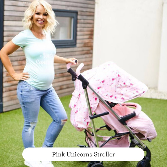 Pink Unicorns Stroller - Believe by Katie Piper