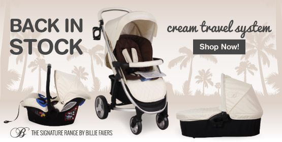 My Babiie Billie Faiers Cream Travel System