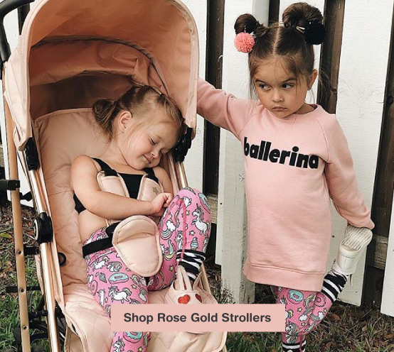 My Babiie US Rose Gold Strollers