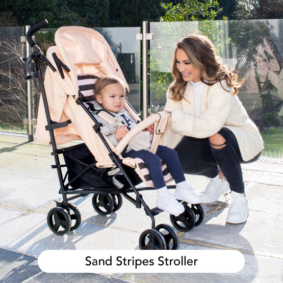 Sand Stripes Stroller - Dreamiie by Samantha Faiers