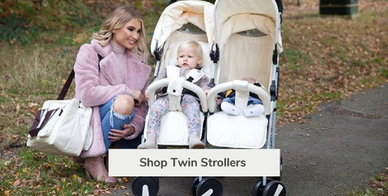 My Babiie Twin Double Strollers