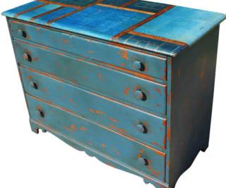 vintage matt furniture paint